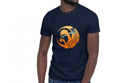 T-Shirt: Navy Blue