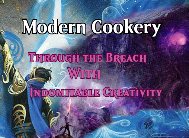 Modern Cookery with Spaghetti Mama: Through the Breach with Indomitable Creativity