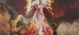 Serra's Emissary MTG art